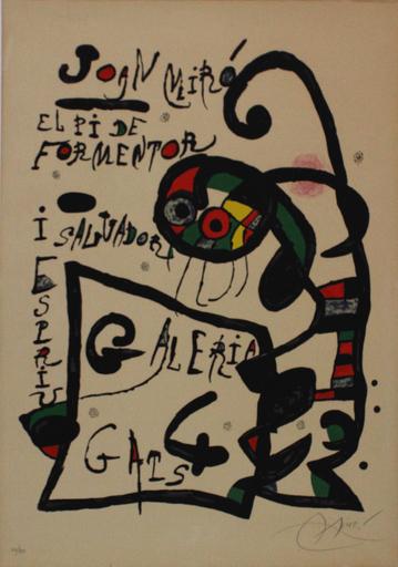 Joan MIRO - Grabado - El Pi de Formentor