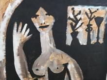 Jorge CABEZAS - Pintura - La dama