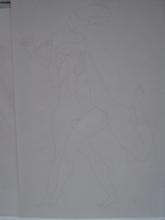 Joseph CSAKY - Dibujo Acuarela - 2 FEMMES COURANTES