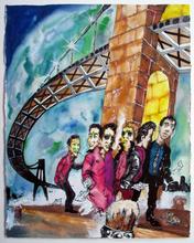DAZE - Drawing-Watercolor - Under the Bridge