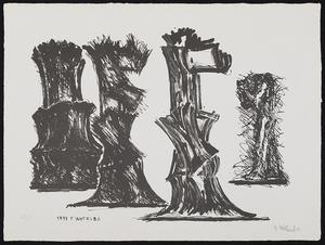 Fritz WOTRUBA - Stampa Multiplo