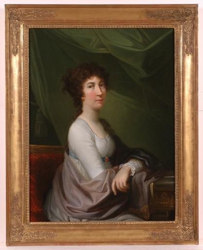 "Johann Baptist II VON LAMPI (Attrib.) - Painting - ""Countess Palffy"", Oil painting"