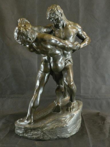 Jef LAMBEAUX - Escultura - Lutteurs