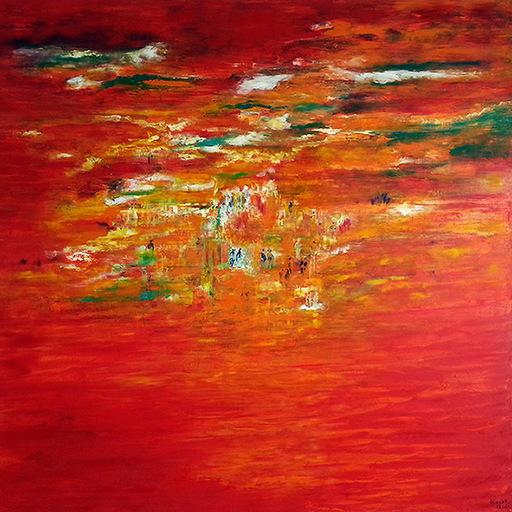 Hayat SAIDI - Peinture - Chemin de vie