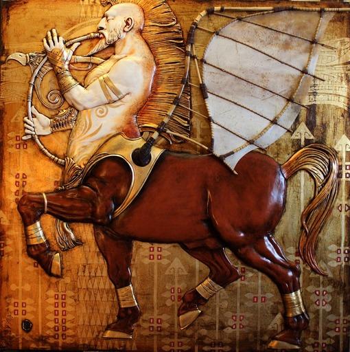 Viktor GORYAEV - 雕塑 - Inspired by a Dream