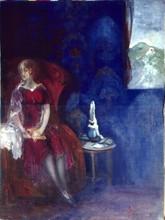 Boris Israelewitsch ANISFELD - Pittura - BLUE ROOM
