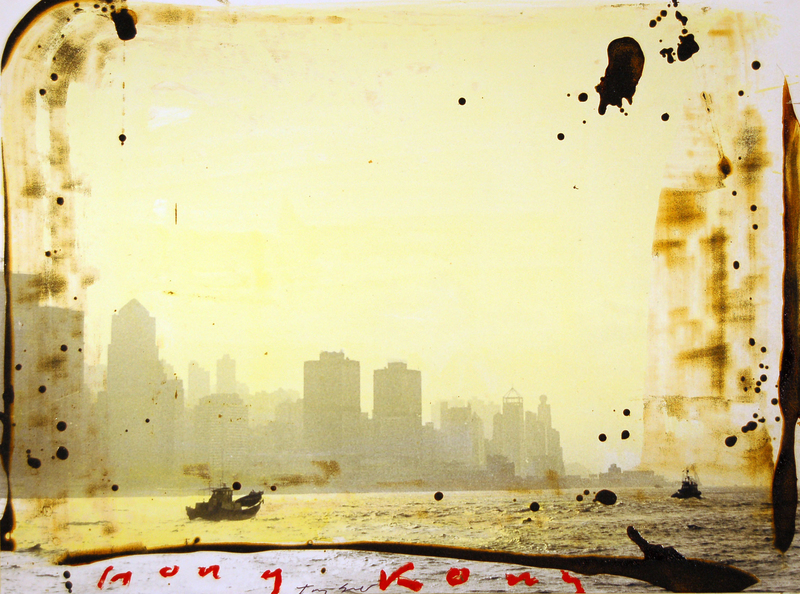 Tony SOULIÉ - 绘画 - Hong Kong #8  (series)