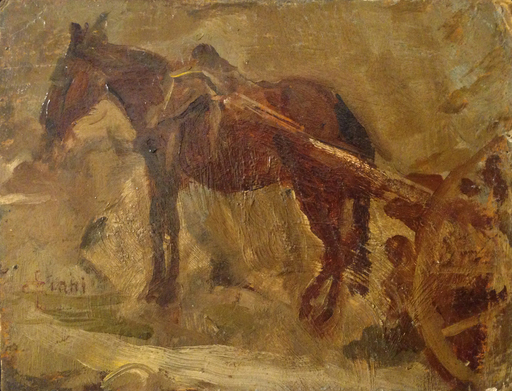 Cesare CIANI - Pintura - Cavallo