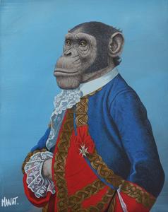 MANAT - Painting - Marquis de Seytres