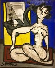 Claude VENARD - Pintura - Portrait