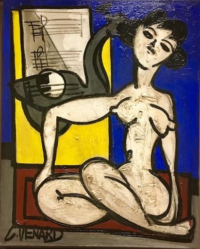 Claude VENARD - Painting - Portrait