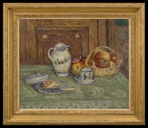 Maxime MAUFRA - Painting - Nature Morte