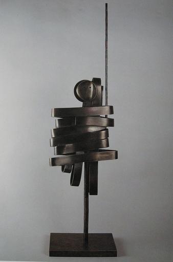 Max PAPART - Sculpture-Volume - L'Homme d'Arme, 1992