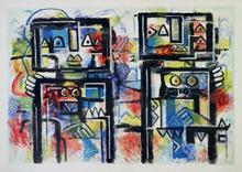 Ibrahim KODRA - Pintura - Un amore