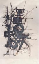 Georges MATHIEU (1921-2012) - Composition 49