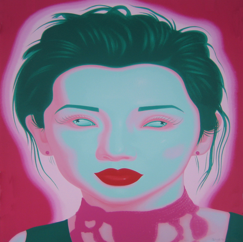 FENG Zhengjie - Estampe-Multiple - Chinese portrait 6