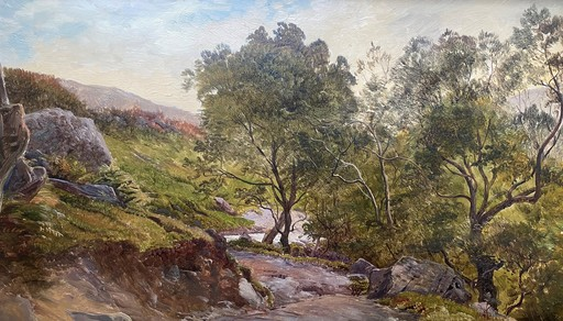 Sidney Richard PERCY - Gemälde - Glen Croe Argyllshire in Scotland