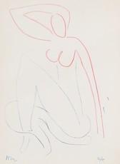 Henri MATISSE - Radierung Multiple - Femme