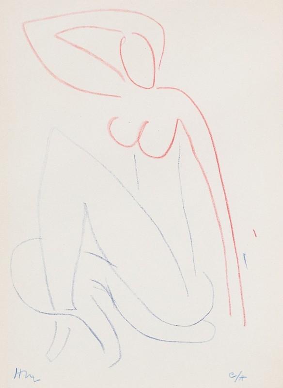 Henri MATISSE - Print-Multiple - Femme