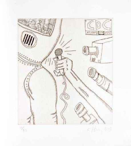 Keith HARING - Grabado - Untitled from