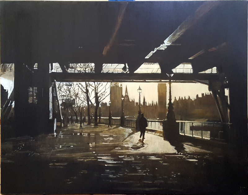 Pierre RIOLLET - Peinture - London Bridge