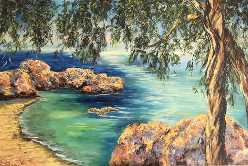 Diana MALIVANI - Pintura - Morning. Cyprus