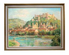 Wilhelm KAUFMANN - Pintura - Festung Hohensalzburg