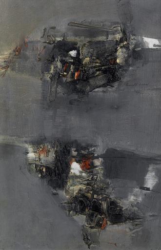 Shanti DAVE - Peinture - Untitled