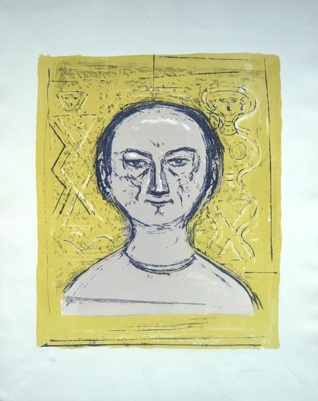 Massimo CAMPIGLI - Druckgrafik-Multiple - Autoritratto