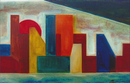 Didier ANGELS - Peinture - NEW YORK 1962 A1