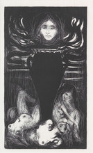 "Edvard MUNCH (1863-1944) - ""Urnen"" / ""The Urn"""