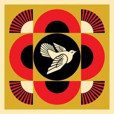 Shepard FAIREY - Estampe-Multiple - Dove Peace