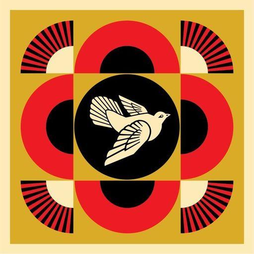 Shepard FAIREY - Print-Multiple - Dove Peace