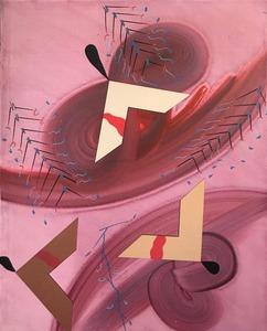 Sergio DANGELO - Gemälde - High wind, 1992