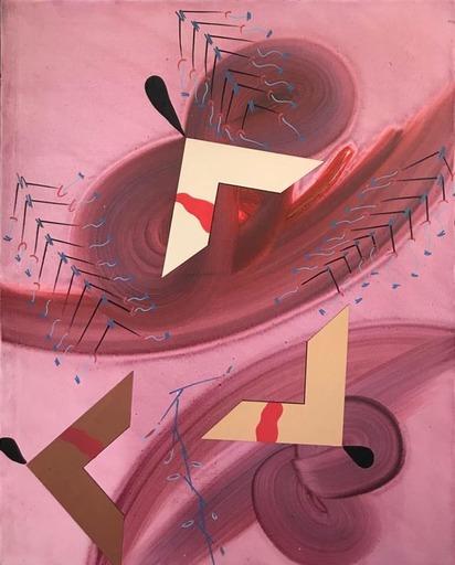 Sergio DANGELO - Pittura - High wind, 1992