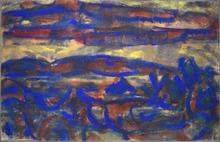 Christian ROHLFS - Drawing-Watercolor - Landscape | Landschaft