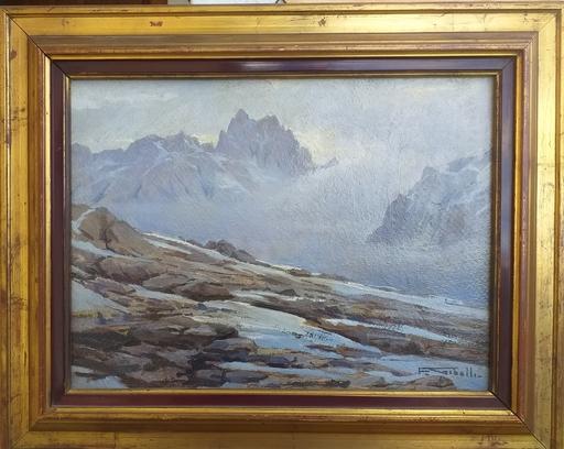 Francesco GIBELLI - Painting - Dolomiti
