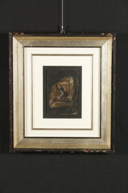 Bruno CECCOBELLI - Gemälde - Il monaco più giovane