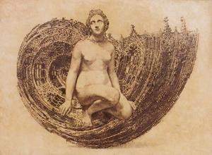 Vladimir KOLESNIKOV - Painting - Venus Delvoye