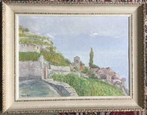 Henri ALIN - Painting - Saint-Saphorin Lavaux