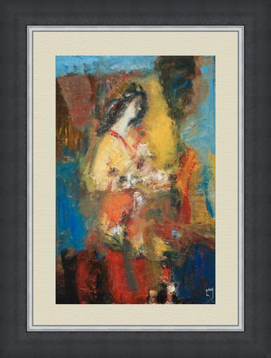 Levan URUSHADZE - Painting - Stranger