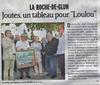 Jean-Pierre CHEVASSUS-AGNES - Dessin-Aquarelle - jouteur au tabagnon La Roche de Glun Drôme