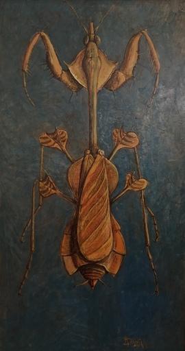 Marcel Charles DESBAN - Pintura - La Mante religieuse