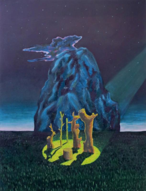 Martin FAURE - Painting - «Souvenir de charade»
