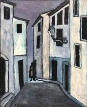 Yves DENDAL - Pintura - Sens unique, simple petite histoire d'amour, Septembre 1951