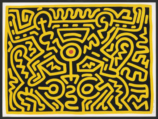 Keith HARING - Print-Multiple - Untitled (# IV)