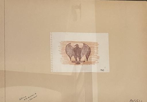 Franco ANGELI - Drawing-Watercolor - Africa Orientale Italiana