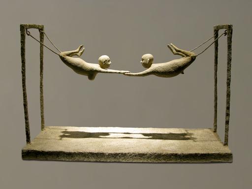 Lucette BRANDY - Escultura - Les acrobates