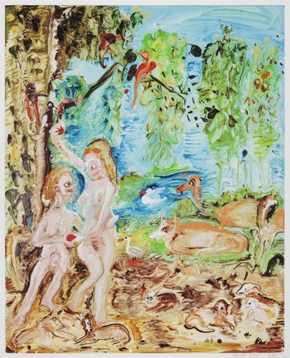 Genieve FIGGIS - Druckgrafik-Multiple - Adam and Eve