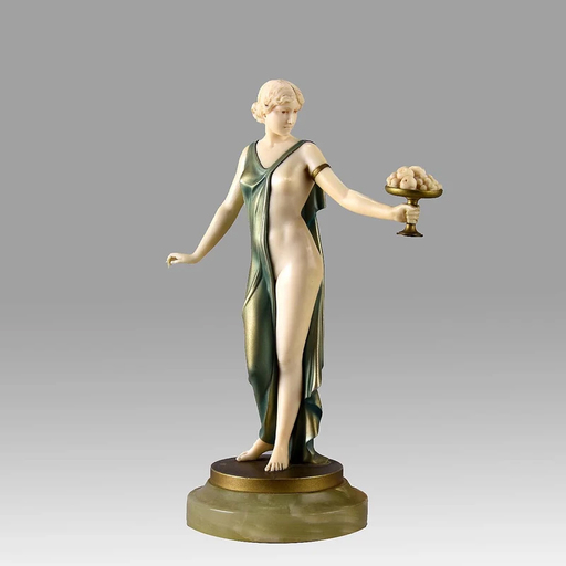 "Johann Philipp Ferdinand PREISS - Sculpture-Volume - ""Pamona"" by Ferdinand Preiss"
